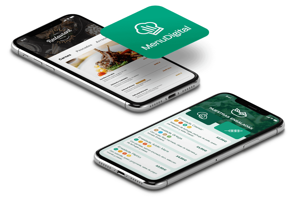 App carta digital para restaurantes