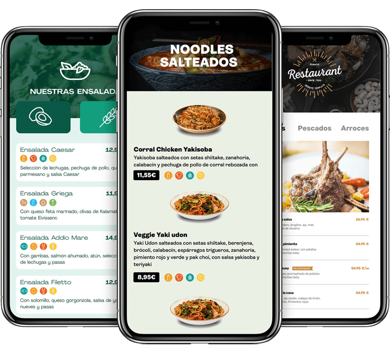 Carta Digital para bares y restaurantes | Menú digital por 59€/año